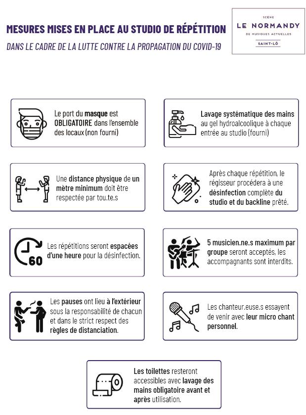 règles Local Covid-19